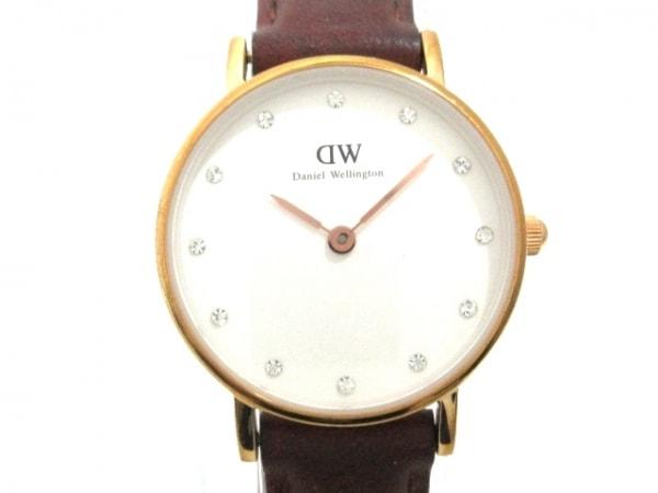 Daniel Wellington(ダニエルウェリントン) 腕時計 - O26R3 レディース 白