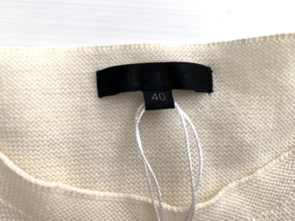 TO BE CHIC(トゥービーシック) 長袖セーター サイズ40 M レディース美品  アイボリー