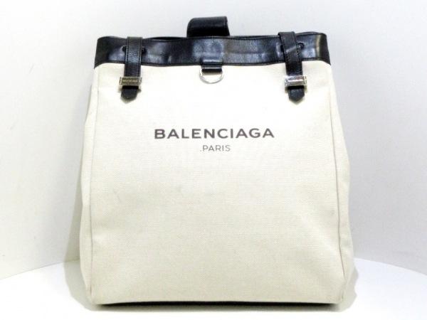 BALENCIAGA(バレンシアガ) ワンショルダーバッグ ネイビー 339931 アイボリー×黒