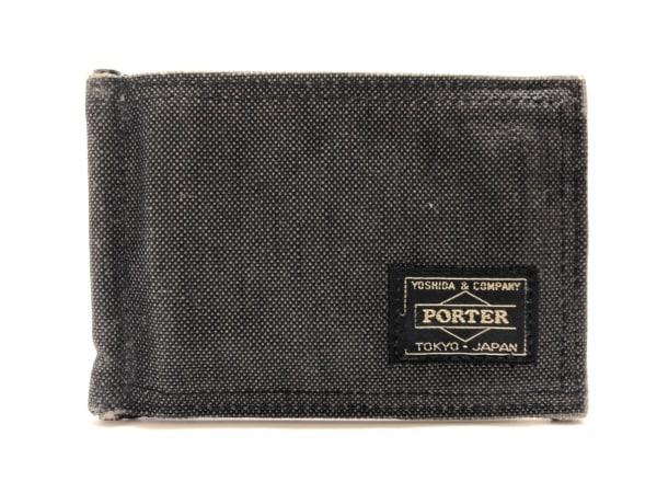PORTER/吉田(ポーター) カードケース - ダークグレー キャンバス