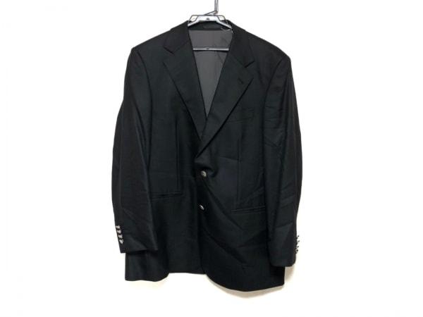 Burberry LONDON(バーバリーロンドン) ジャケット メンズ美品  黒 ネーム刺繍