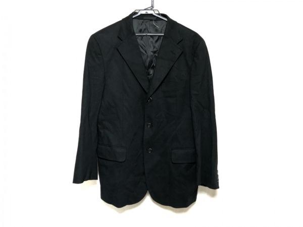 Burberry LONDON(バーバリーロンドン) ジャケット サイズM メンズ 黒×ダークグレー