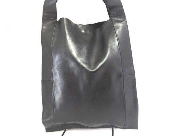 TK (TAKEOKIKUCHI)(ティーケータケオキクチ) トートバッグ美品  黒 レザー