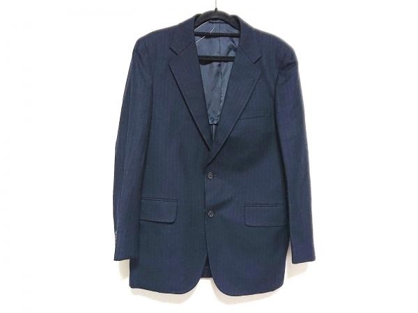 J.PRESS(ジェイプレス) ジャケット メンズ美品  ネイビー×ライトグレー