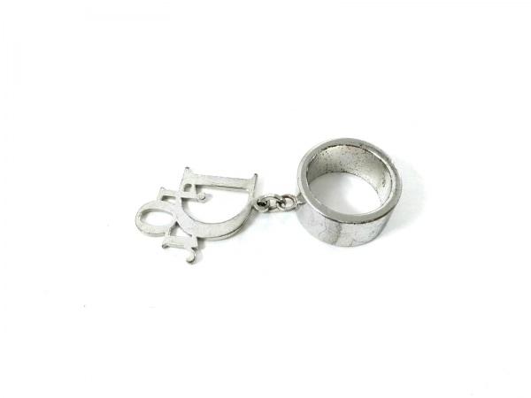 クリスチャンディオール リング 金属素材 シルバー サイズ:6/ロゴモチーフ