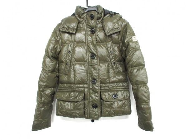 MONCLER(モンクレール) ダウンジャケット サイズ00 XS レディース - カーキ 冬物