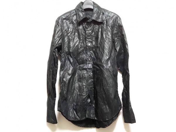 5351 PourLesHomme(5351プールオム) 長袖シャツ サイズ1 S メンズ 黒
