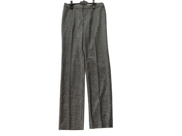 アルマーニコレッツォーニ パンツ サイズ42 M レディース グレー×黒