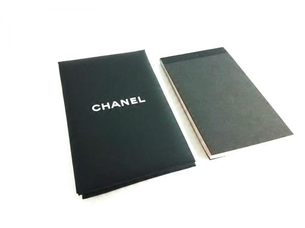 シャネル 小物美品  黒×白×ベージュ ミラー&オイルコントロールペーパーセット