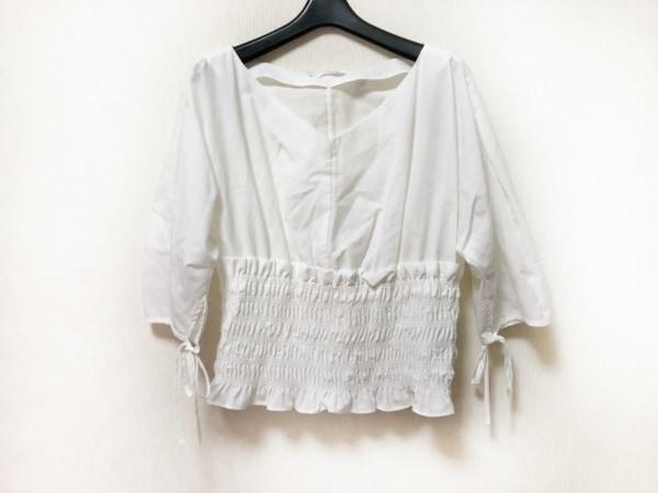 FRAY I.D(フレイアイディー) 七分袖カットソー サイズF レディース美品  白