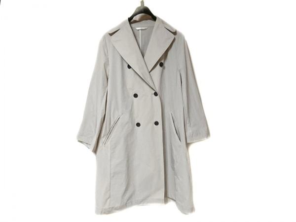 qualite(カリテ) コート サイズ38 M レディース美品  アイボリー 春・秋物