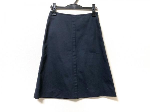PRADA(プラダ) スカート サイズ38 S レディース ダークネイビー