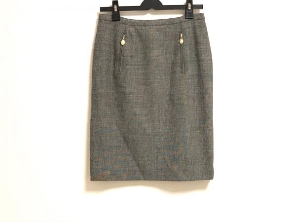ChristianDior(クリスチャンディオール) スカート サイズ9 M レディース美品  グレー