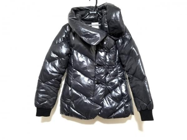 ディーゼル ダウンジャケット サイズXL レディース ダークグレー ジップアップ/冬物