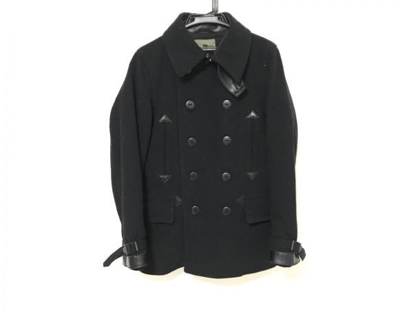 NIGEL CABOURN(ナイジェルケーボン) Pコート サイズ46 XL メンズ ダークネイビー 冬物
