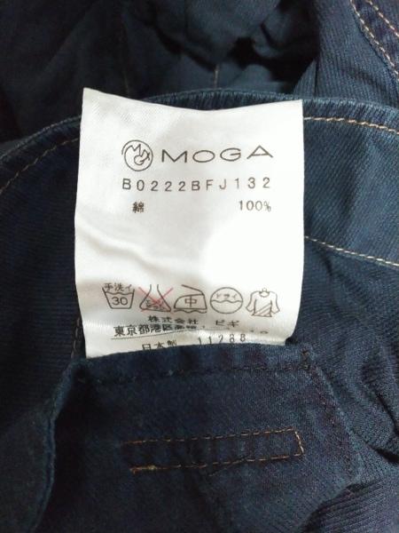 MOGA(モガ) スカートセットアップ サイズ2 M レディース美品  ネイビー