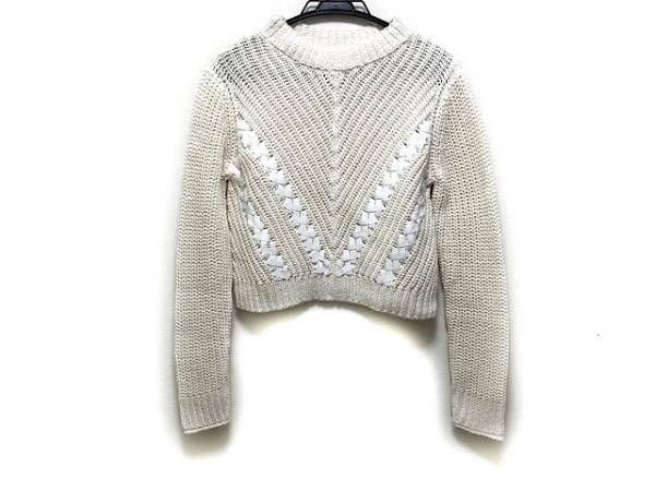 スリーワンフィリップリム 長袖セーター サイズXS レディース新品同様  白 ショート丈
