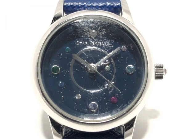 STAR JEWELRY(スタージュエリー) 腕時計 レディース ダークネイビー