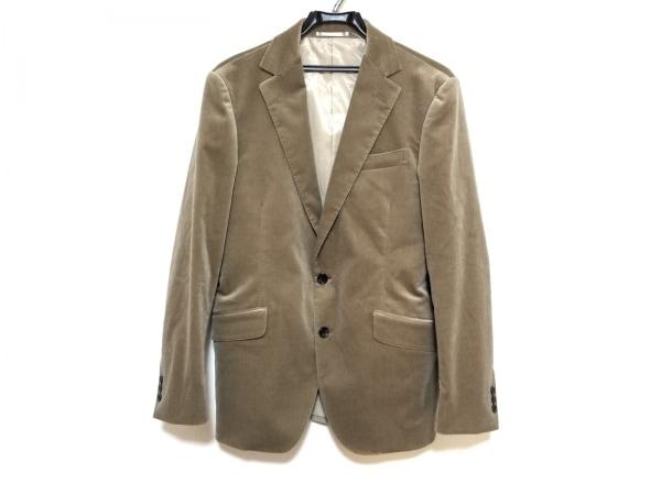 トゥモローランド ジャケット サイズ46 XL メンズ美品  ベージュ ベロア