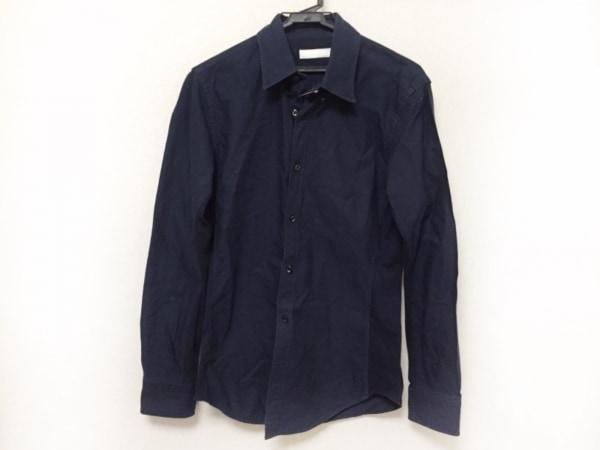jun hashimoto(ジュンハシモト) 長袖シャツ サイズ4 XL メンズ美品  ネイビー