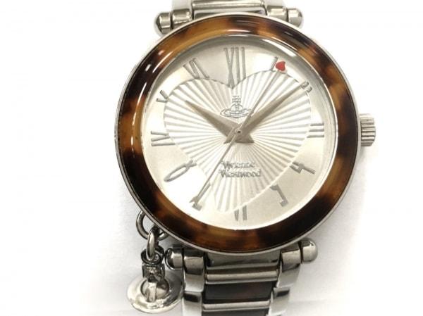 ヴィヴィアン 腕時計 ディアマンテハート インデックス VV006SLBR レディース