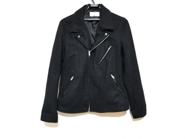 HARE(ハレ) ライダースジャケット サイズM レディース美品  黒 ジップアップ/冬物