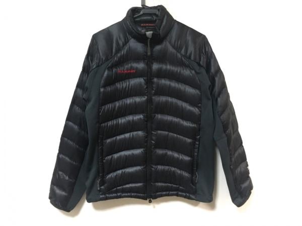 MAMMUT(マムート) ダウンジャケット サイズM レディース 黒×ネイビー