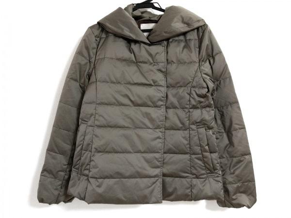 ジユウク ダウンジャケット サイズ38 M レディース美品  ダークグレー 冬物