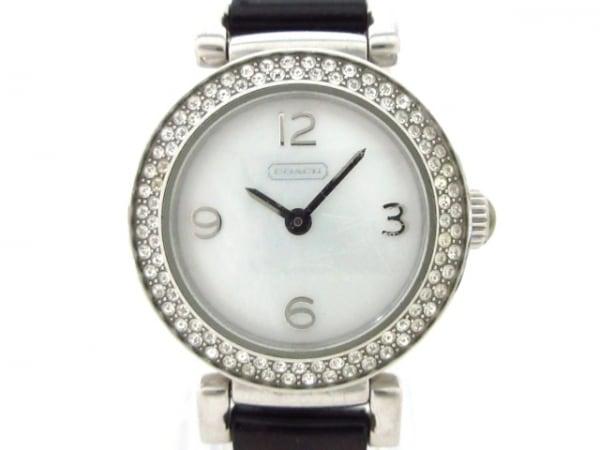 COACH(コーチ) 腕時計 CA.72.7.14.0737S レディース シェルホワイト