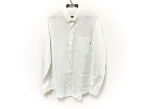 Papas(パパス) 長袖シャツ メンズ 白