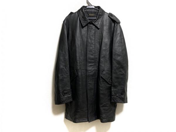DURBAN(ダーバン) コート サイズL メンズ美品  黒 レザー