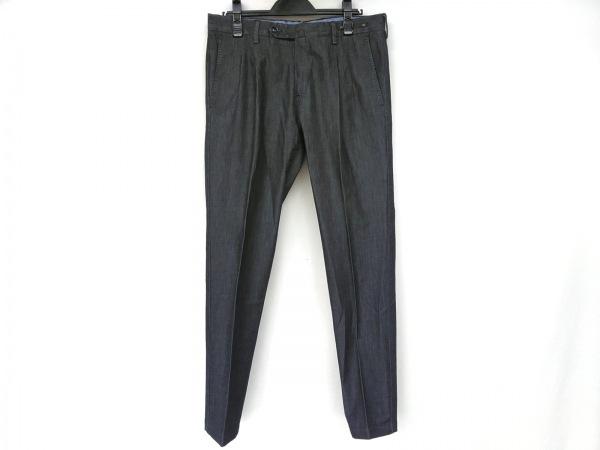ピーティーゼロウーノ パンツ サイズ46 XL メンズ新品同様  ネイビー PREPPY FIT