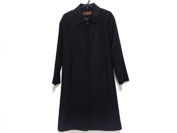 BALMAIN(バルマン) コート サイズ9 M レディース美品  黒 冬物