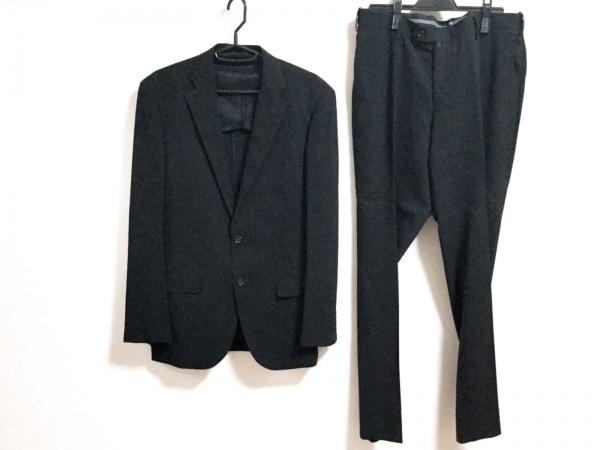 VISARUNO(ビサルノ) シングルスーツ サイズM メンズ 黒 ストライプ