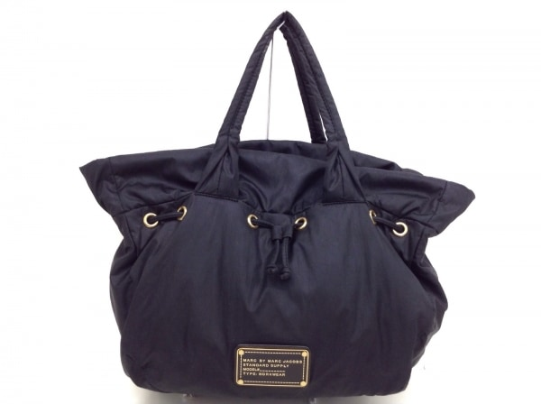 MARC BY MARC JACOBS(マークバイマークジェイコブス) トートバッグ - 黒 ナイロン