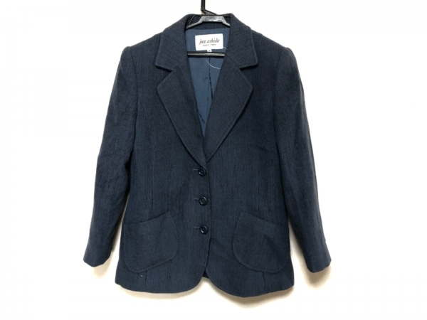 ジュンアシダ ジャケット サイズ9 M レディース美品  肩パッド 1