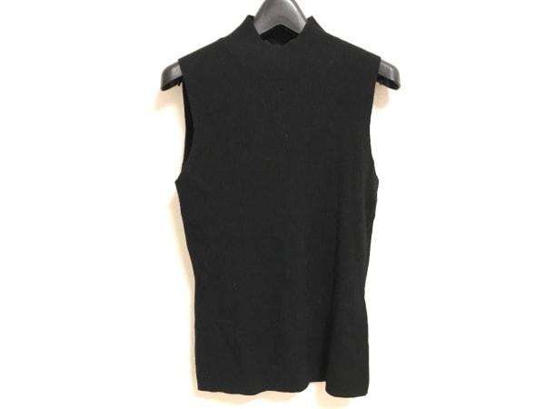 theory(セオリー) ノースリーブセーター サイズS レディース美品  黒 ハイネック