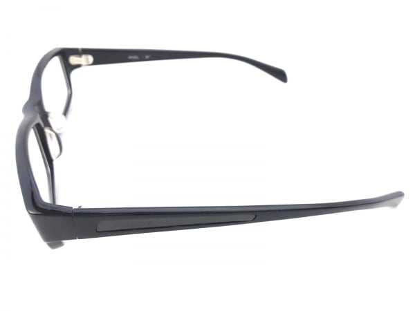 POLICE(ポリス) メガネ 黒×クリア プラスチック