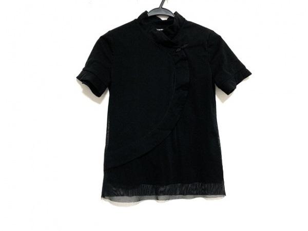 VIVIENNE TAM(ヴィヴィアンタム) 半袖カットソー サイズ1 S レディース美品  黒
