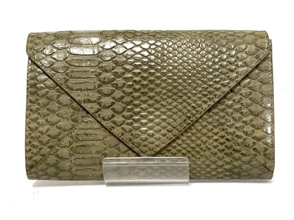 ROSEBUD(ローズバッド) 財布 ダークグレー 型押し加工/3WAY 合皮