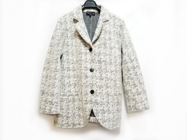 agnes b(アニエスベー) ジャケット サイズTイ レディース 白×黒