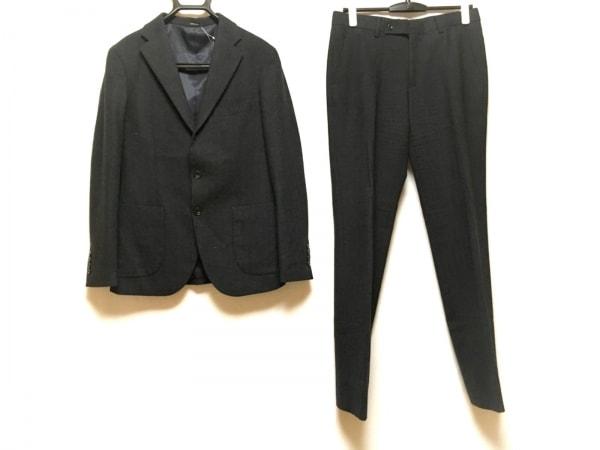 COMME CA ISM(コムサイズム) シングルスーツ サイズS メンズ ダークグレー