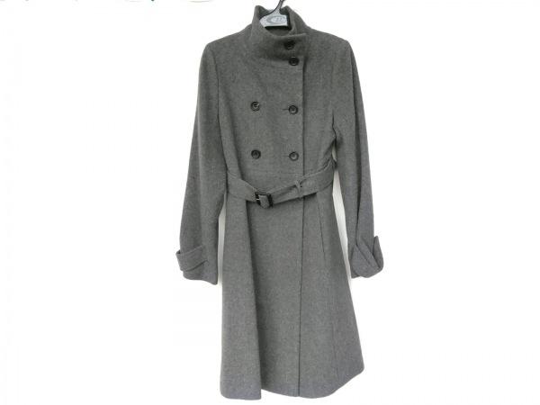 COMME CA DU MODE(コムサデモード) コート サイズ9 M レディース美品  グレー 冬物