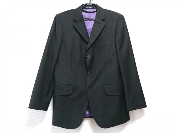 PaulSmith(ポールスミス) ジャケット サイズA-46 メンズ美品  黒 肩パッド