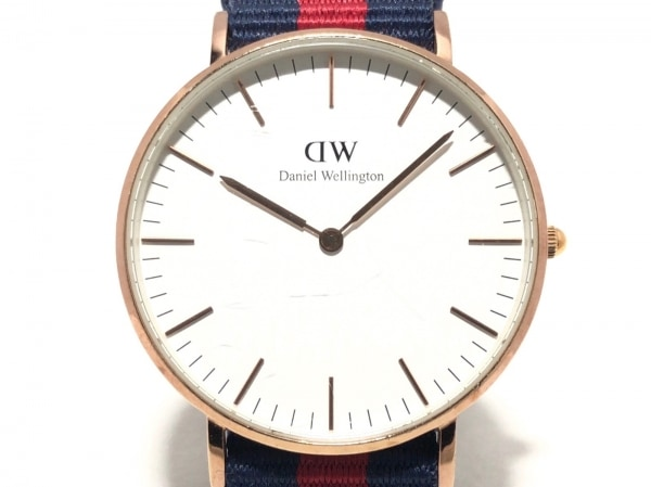 Daniel Wellington(ダニエルウェリントン) 腕時計 B14 レディース 白