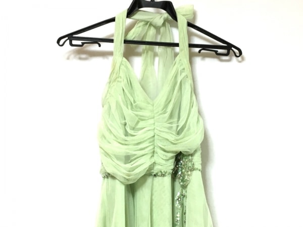 BCBGMAXAZRIA(ビーシービージーマックスアズリア) ドレス レディース ライトグリーン