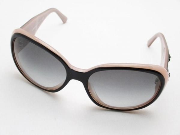 CHANEL(シャネル) サングラス美品  5113-A 黒×ピンク カメリア プラスチック