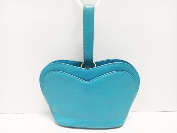 GIVENCHY(ジバンシー) ハンドバッグ - ライトブルー レザー