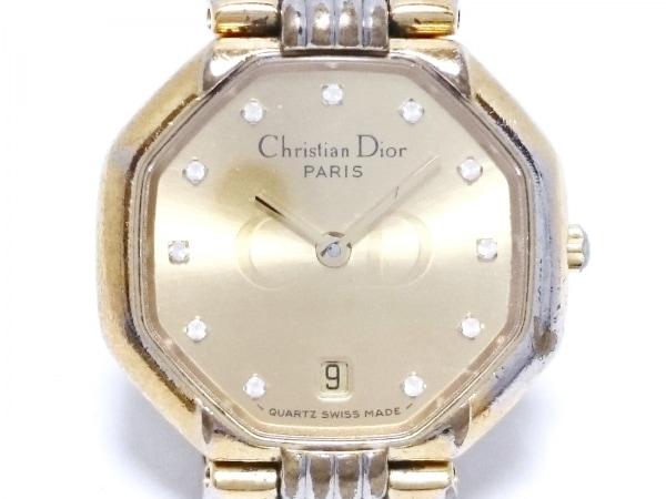 ChristianDior(ディオール) 腕時計 48.133 レディース ゴールド