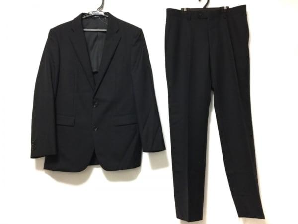 COMME CA MEN(コムサメン) シングルスーツ メンズ 黒
